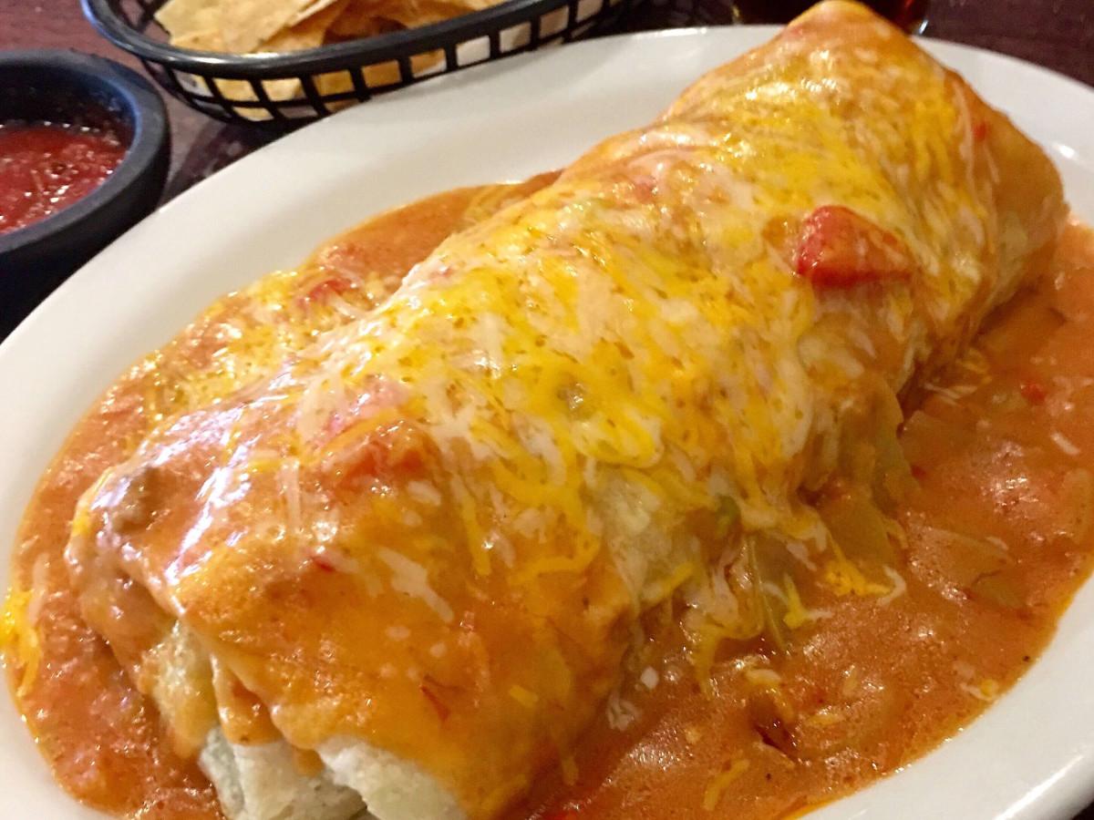 Generic shot of burrito