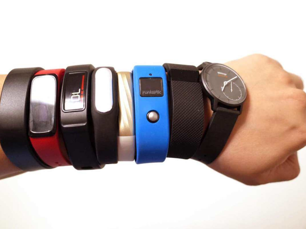 Exercise, fitness, Fitbits, watches