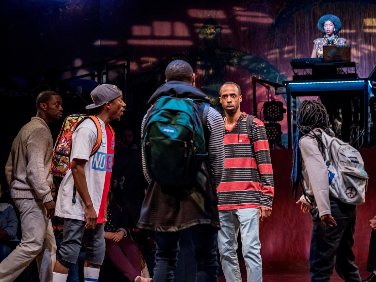 Alley Theatre's Syncing Ink, cast
