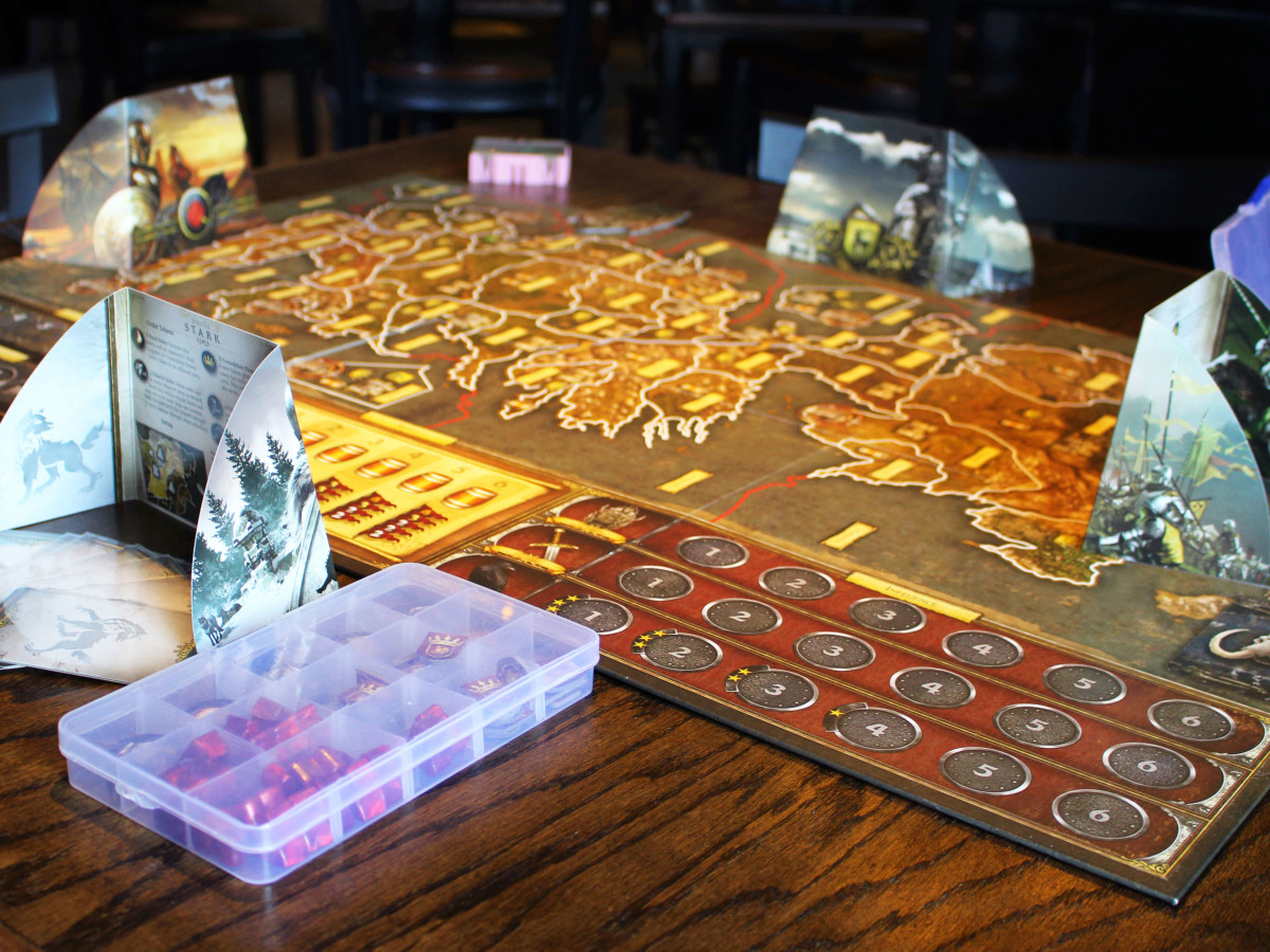 Vigilante Gaming Bar table