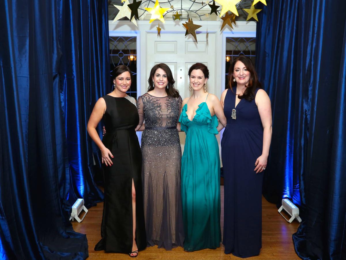 Houston, Junior League of Houston Charity Ball, Feb 2017, Jayne Johnson, Abbey Roberson, Jennifer Howard, Mitra Woody