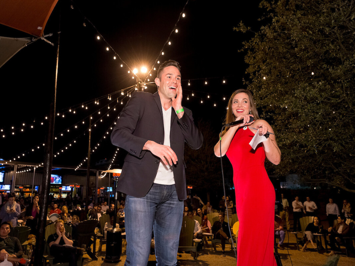 Houston, Red Buds Date Auction, Feb 2017, Alex Hendren, Catie-Beth Truitt