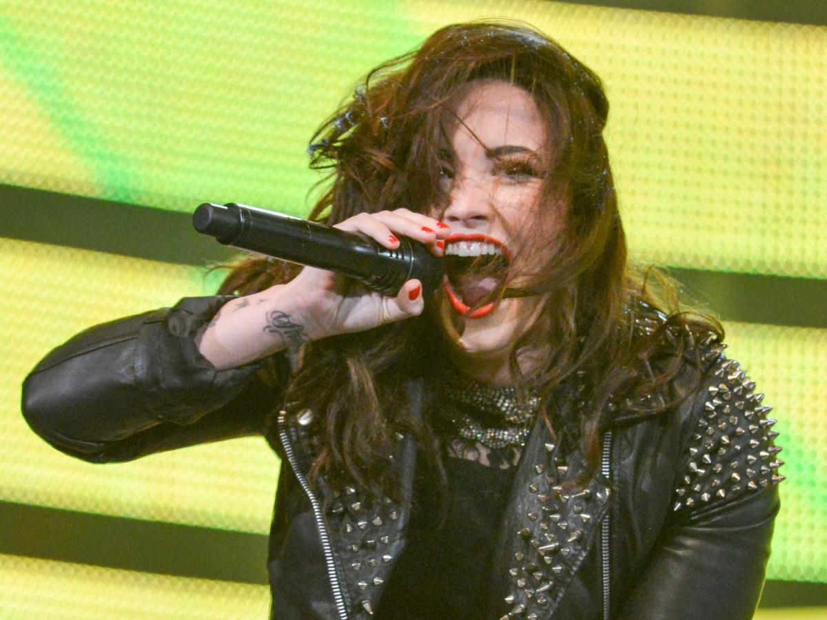 Demi Lovato excited
