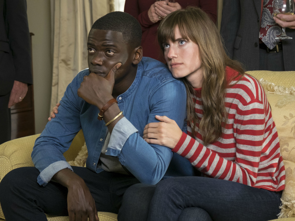 Daniel Kaluuya and Allison Williams in Get Out