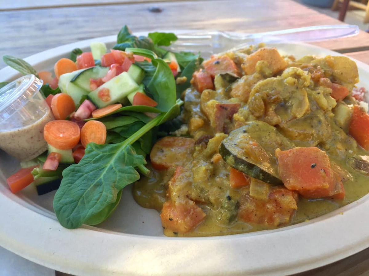 Cazamance African vegan curry