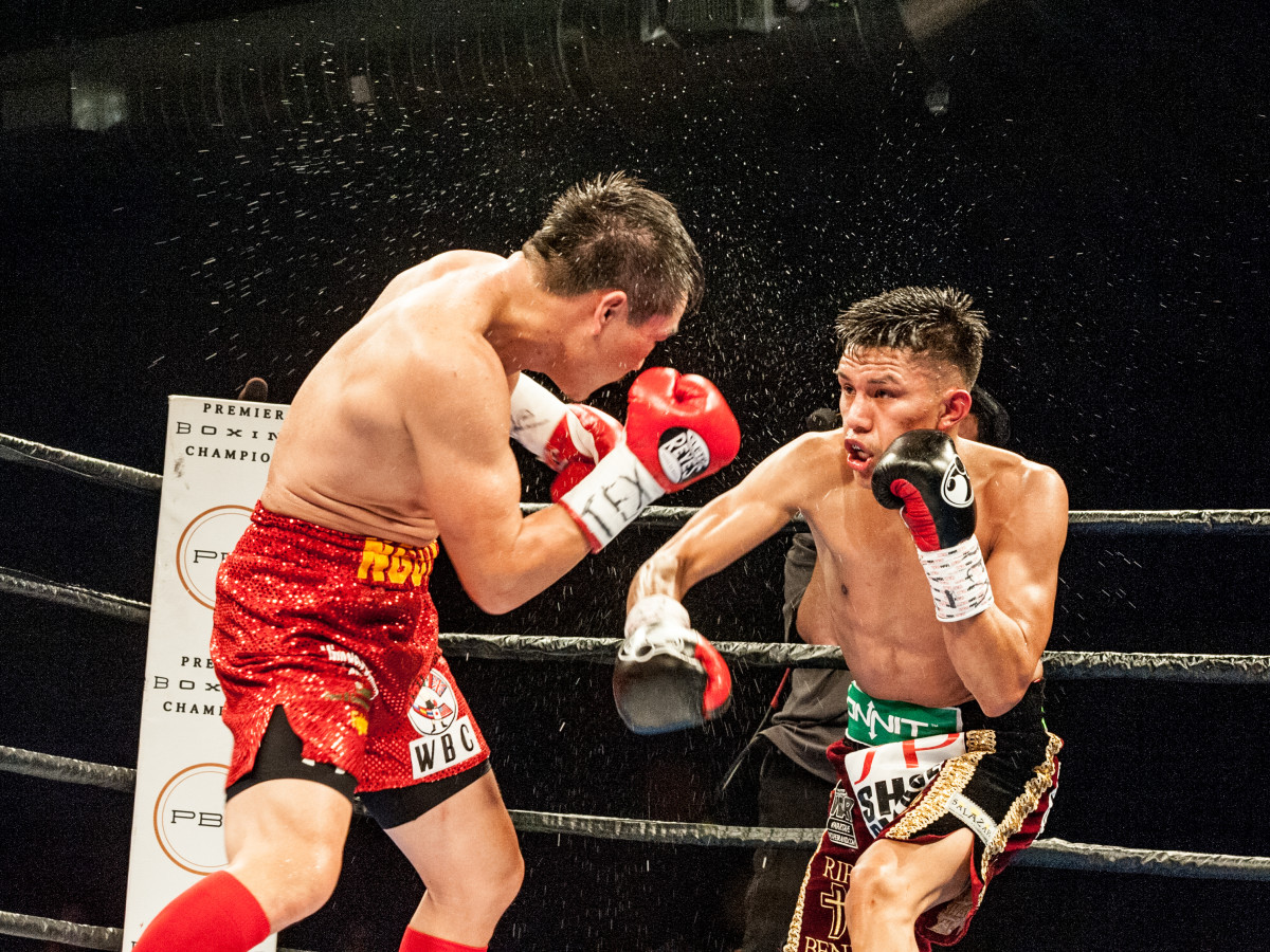 Houston, Black Tie Boxing Benefiting Lone Survivor Foundation, Feb 2017, The Main Event featuring Miguel Flores vs. Dat Nguyen
