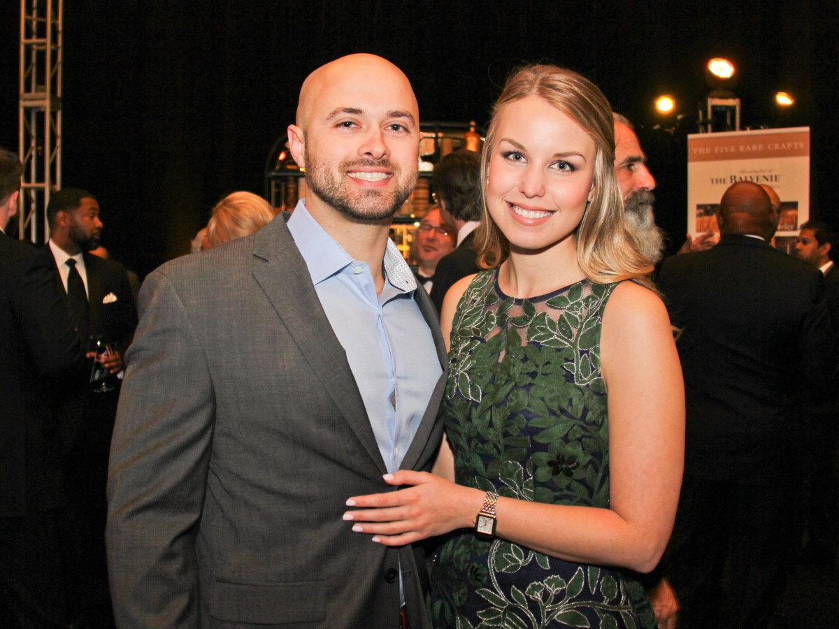 Houston, Black Tie Boxing Benefiting Lone Survivor Foundation, Feb 2017, Lance Dufrene, Alexandra Nemeth
