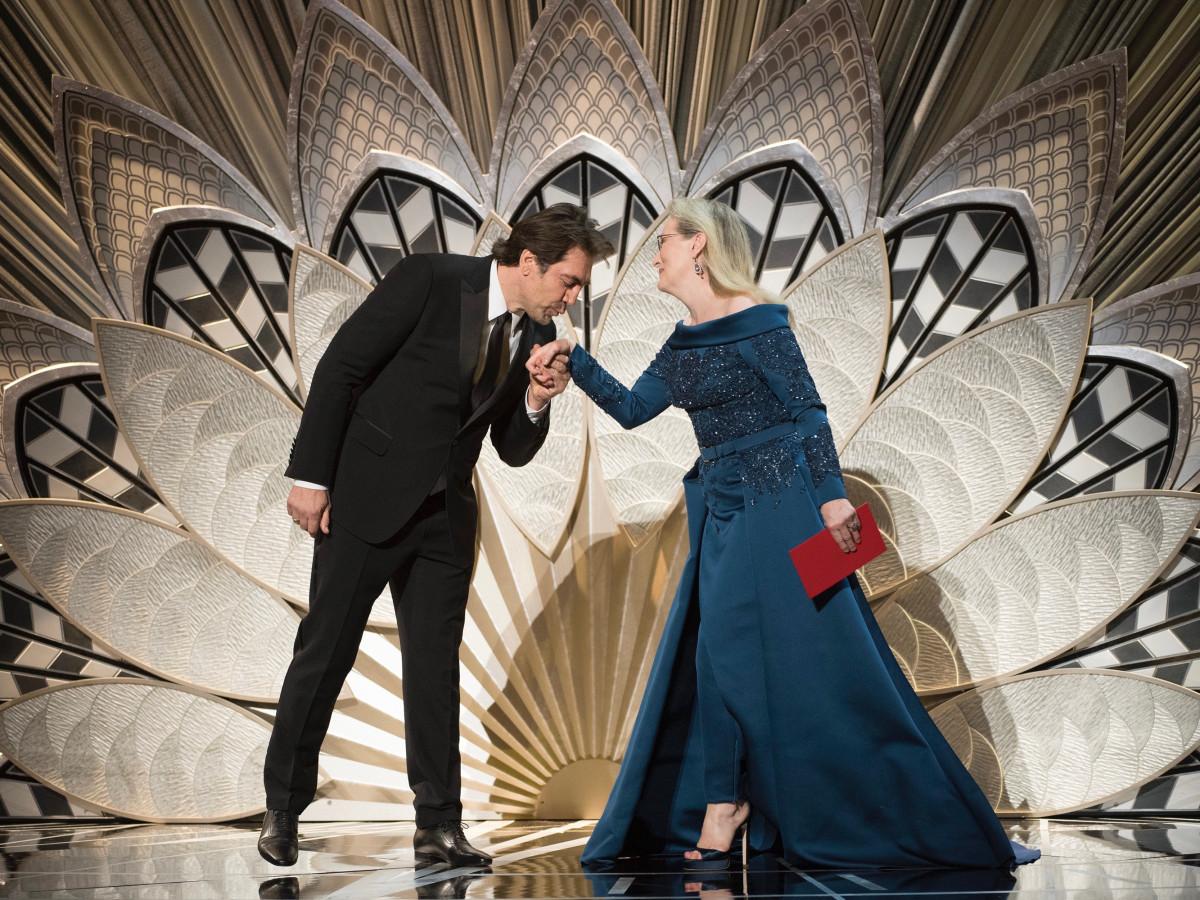 Meryl Streep, Javier Bardem at Oscars 2017