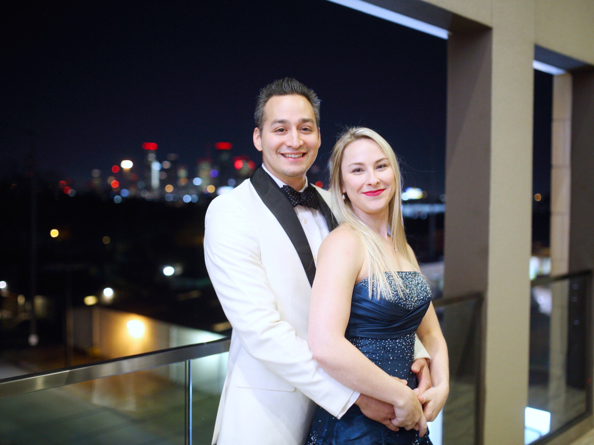 Houston, Big Brothers Big Sisters YP The Big Prom, Feb 2017, Bobby Mireles, Nicole Mireles
