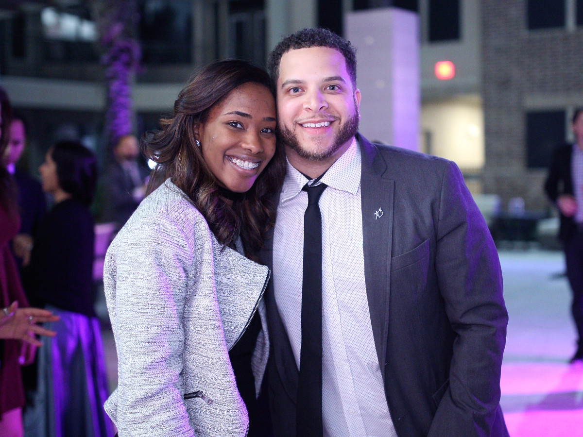 Houston, Big Brothers Big Sisters YP The Big Prom, Feb 2017, DeShann Braxton, Darryl Blackburn