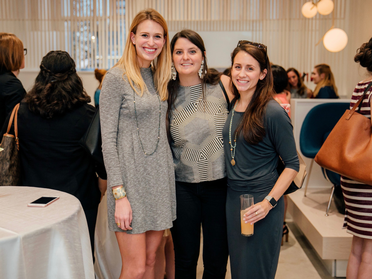 Paloma grand opening, Lauren Barrett, Anna Domning, Lauren Farmer.
