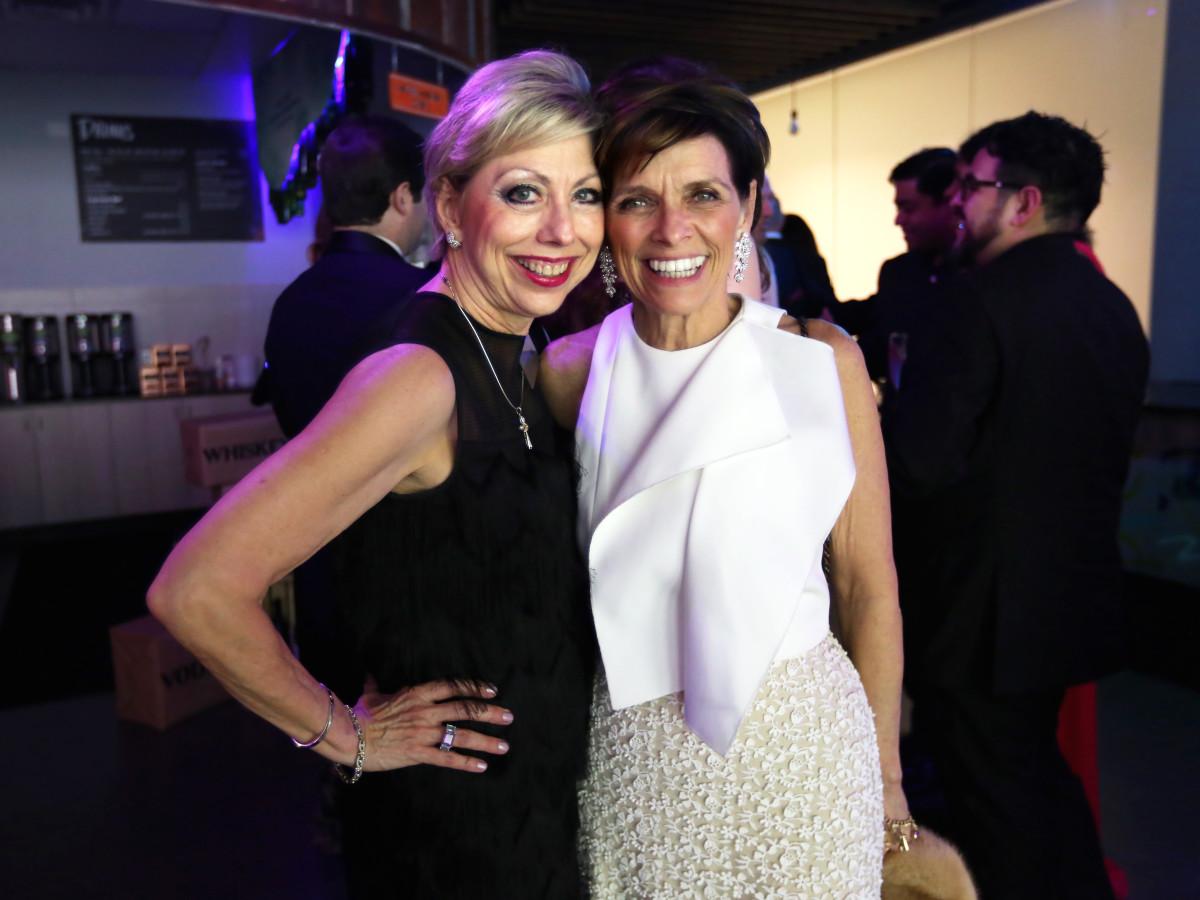 "Jano Nixon Kelley and Kathryn McNeil at the Ars Lyrica ""Roaring Twenties"" Gala"