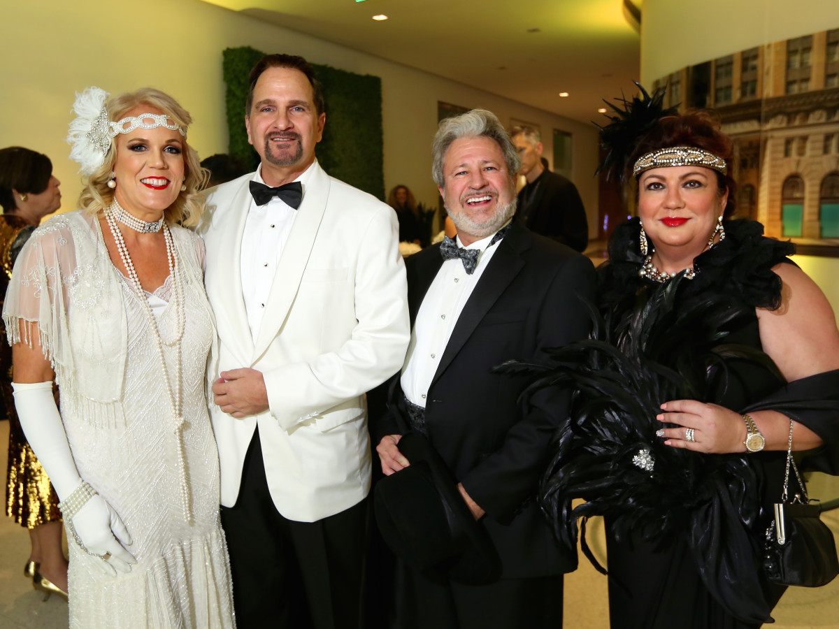 "Dr. Diana Collins, Al Gallo, William Reading and Teresa Reading at the Ars Lyrica ""Roaring Twenties"" Gala"