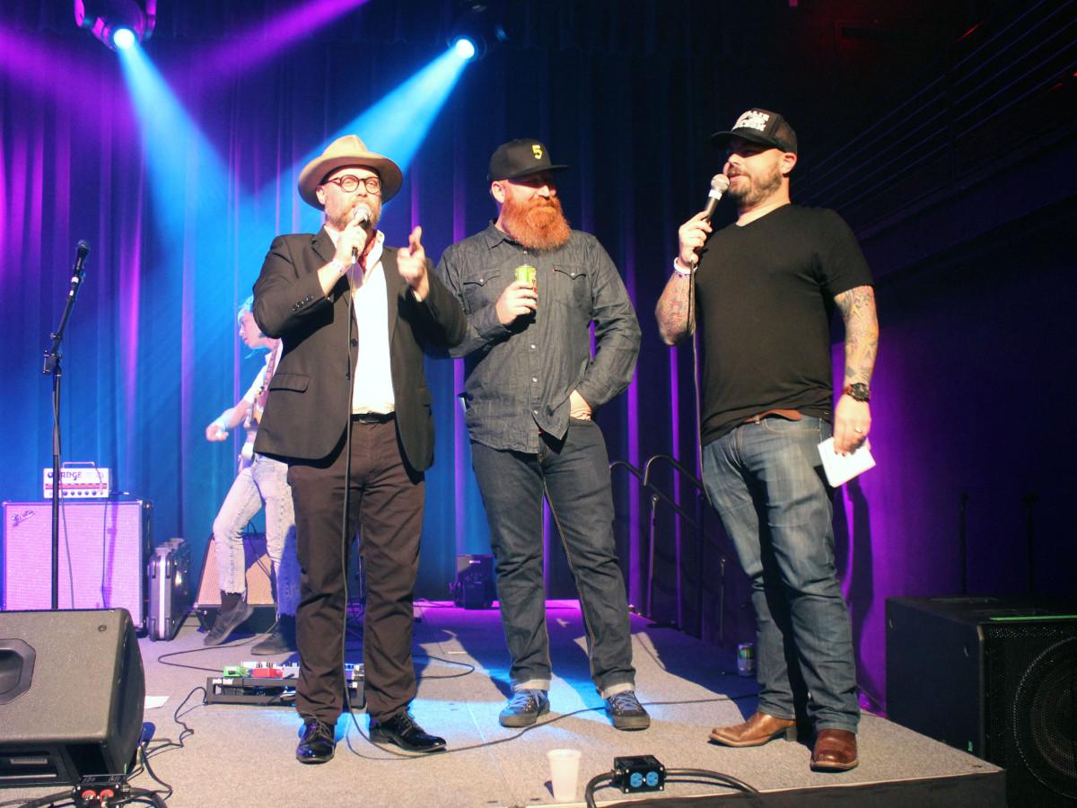 Houston, Mark C Austin Birthday Charity Concert, March 2017, xxx, Mark C. Austin, Craig Hlavaty