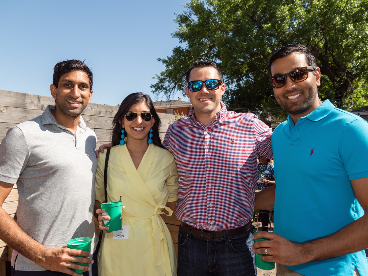 Aaton_Amin, Sarika_Patel, Richard_Campo,Chirag_Pate at Women of Wardrobe spring fling March 2017