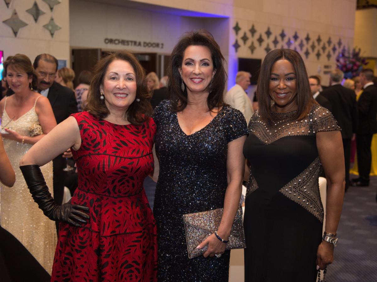 TUTS Dreamgirls Gala 2017 Penny Lloyd, Alicia Maguire Smith, Deborah Duncan