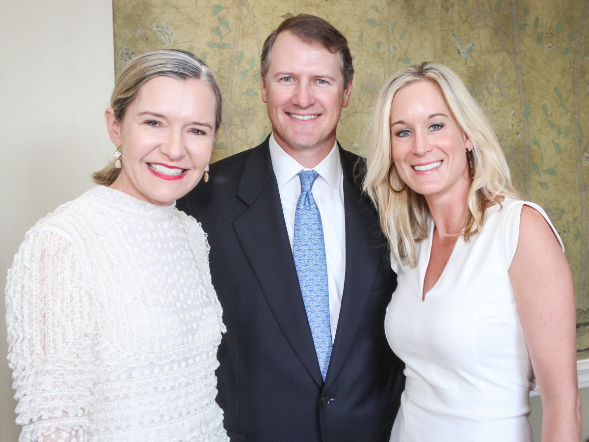 Katie Brass, David Mitchell, Amy LeCrone at MS On The Move luncheon