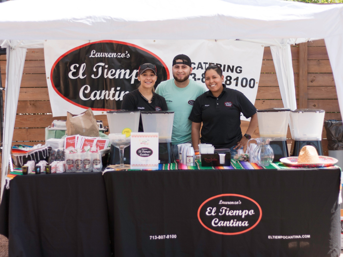 Winning team from El Tiempo Cantina took home the prize of the day at Margarita Taste-Off