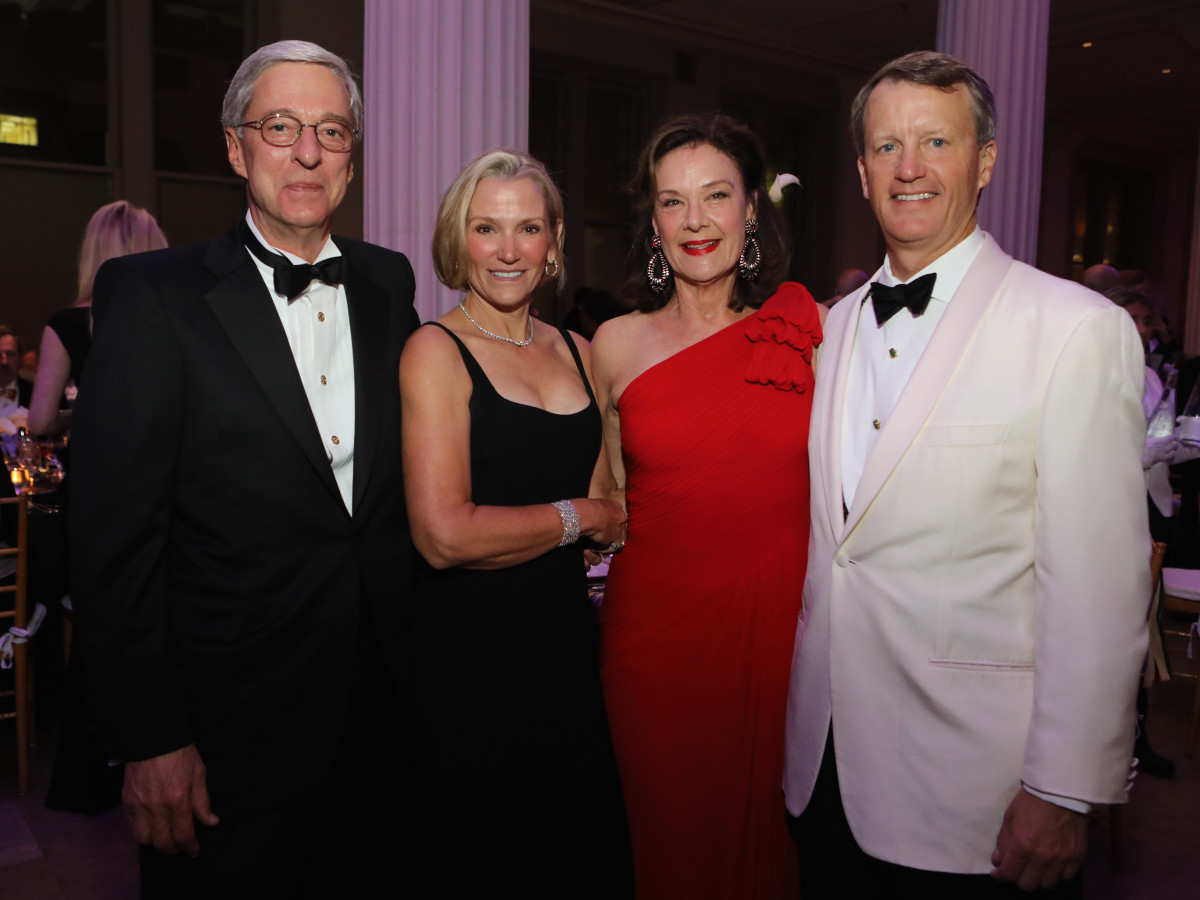 Philip Edmundson, Beth Tilney, Sally Edmundson, Schuyler Tilney at Stages Gala 2017