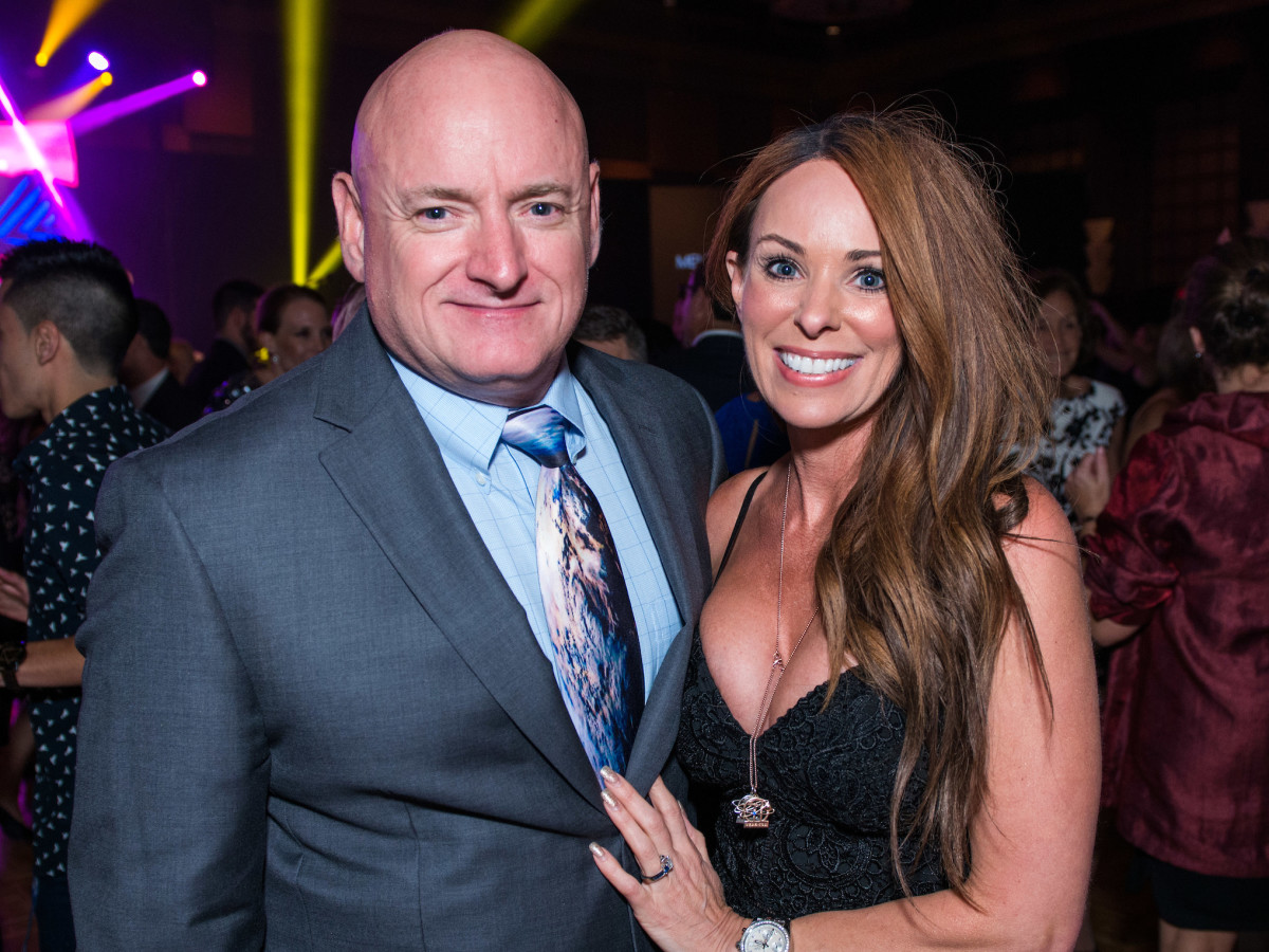 Houston, Space Center Houston Galaxy Gala, April 2017, Scott Kelly, Amiko Kauderer