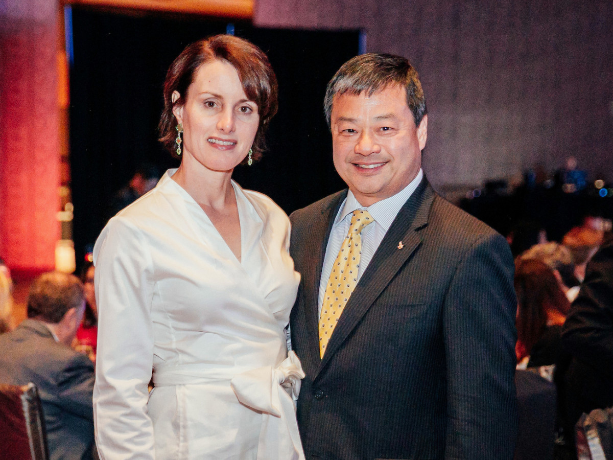 Houston, Space Center Houston Galaxy Gala, April 2017, Dr. Karen Chiao, Dr. Leroy Chiao