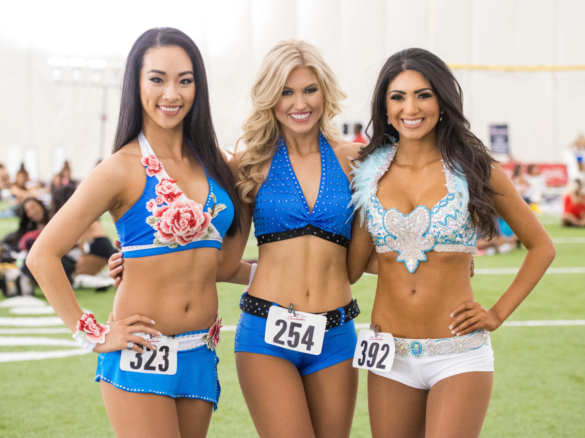 Houston Texans cheerleader tryouts 2017