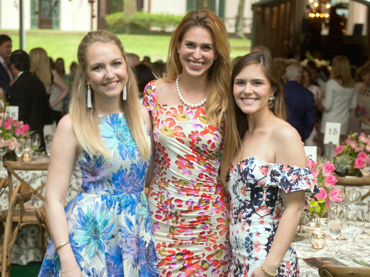 Houston, Bayou Bend Garden party, April 2017, Ali Gray, Lauren Barrett, Laura Murphy