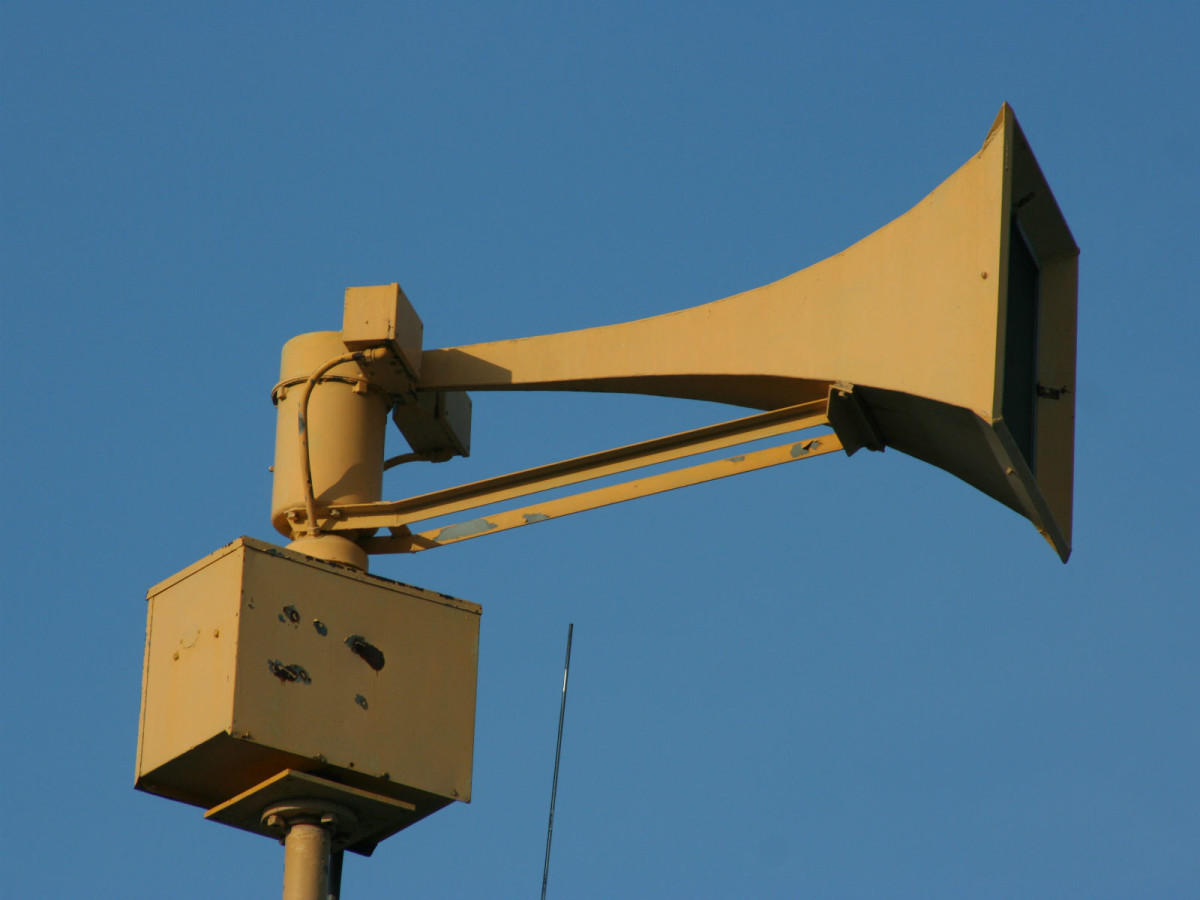Tornado siren