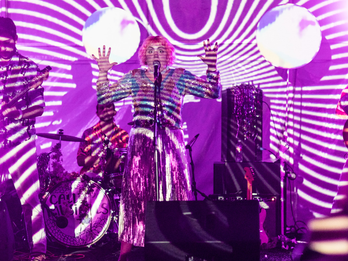 The critically acclaimed Austin-based six-piece psychedelic band Calliope Musicals rocked the Legendary Art Car Ball, as well as Houston's own SoulDig supergroup at Legendary Art Car Ball