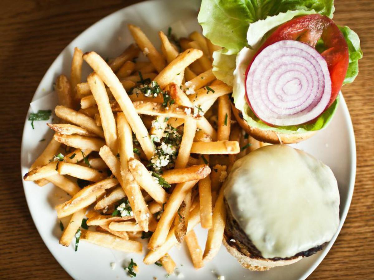 Parkside Austin hamburger