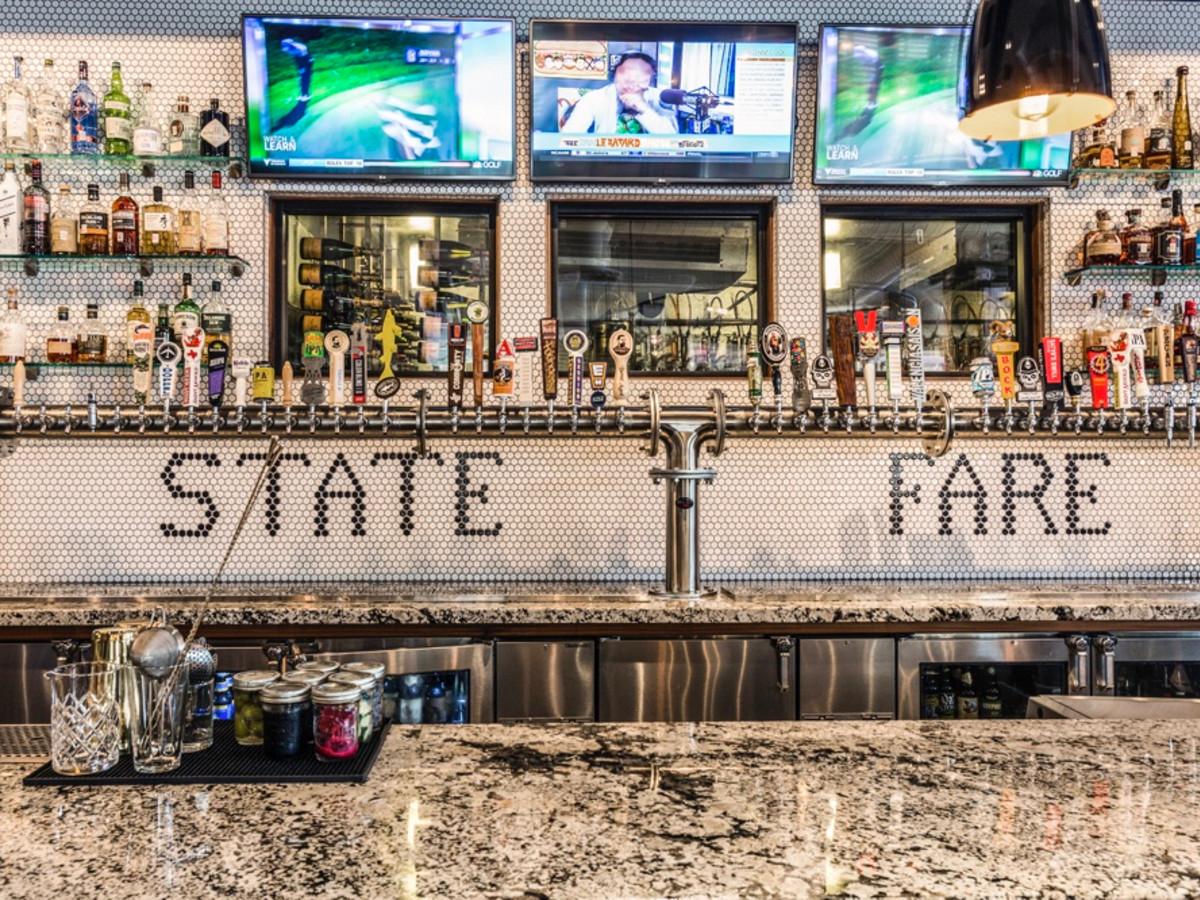 State Fare bar interior