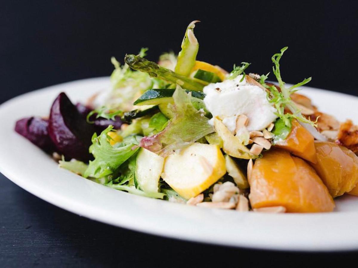 Grayze restaurant salad