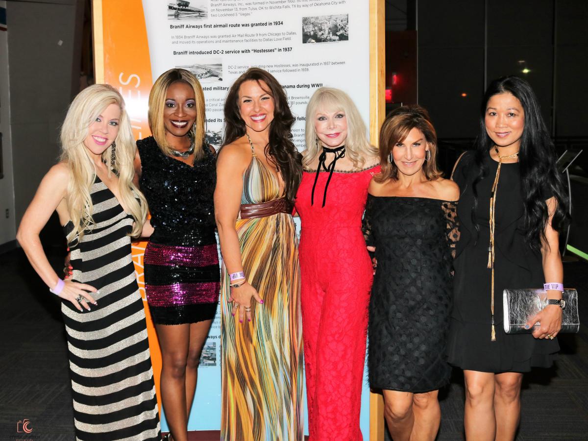 Wendy McGraw, Nicole Barrett, Terri Menking, Tricia Sims, Joni Krieg, Kunthear Douglas