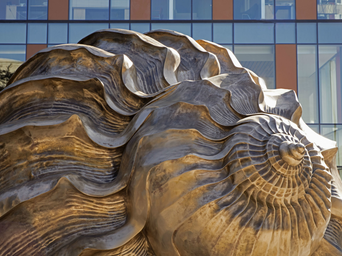 Dell Medical School Landmarks art sculpture