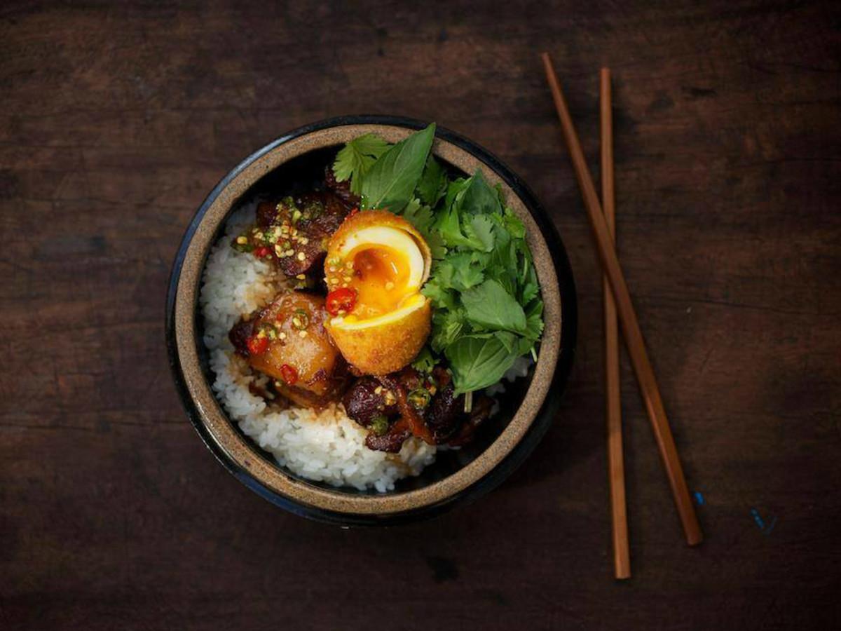 Sway modern Thai Austin restaurant rice dish