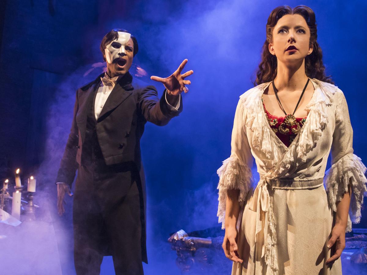 The Phantom of the Opera 2017 Derrick Davis Katie Travis