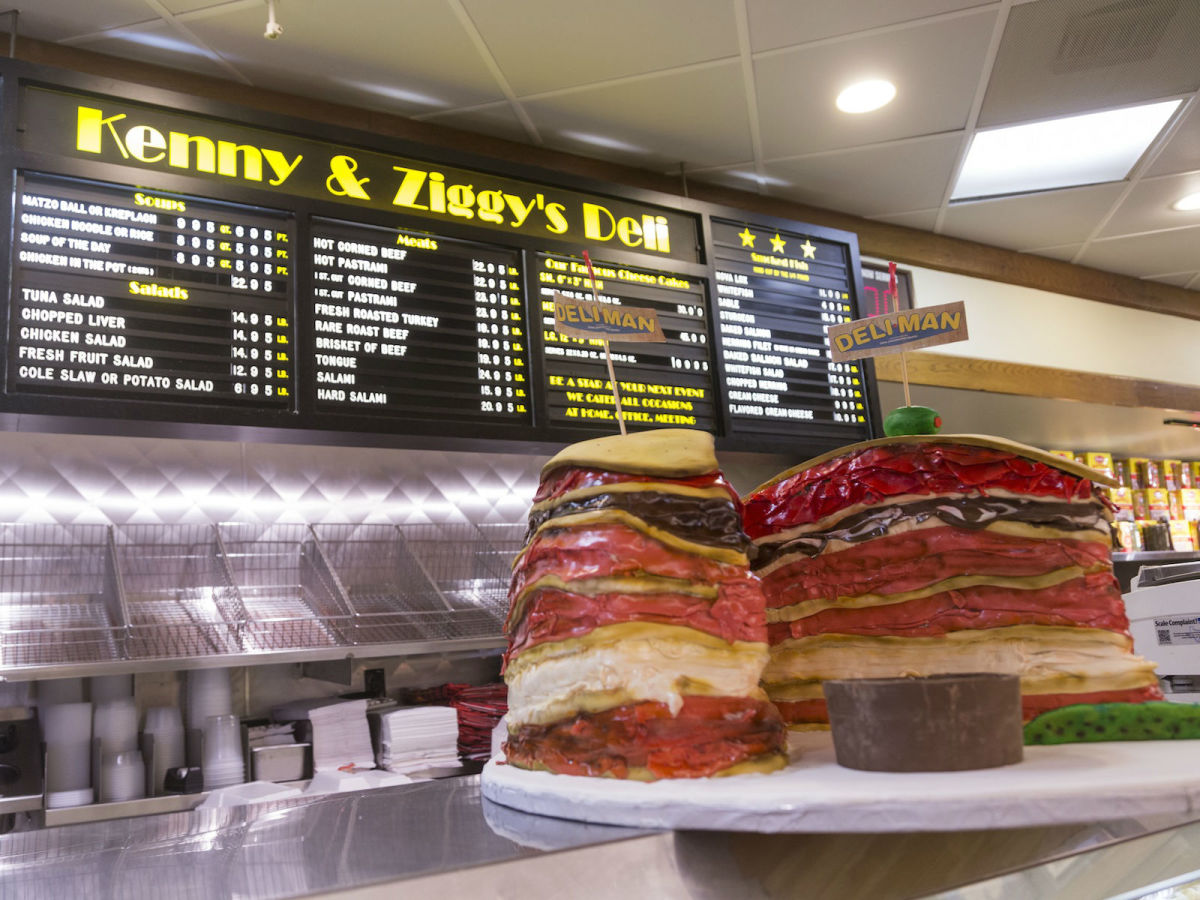 Kenny & Ziggy's Deli Man cake