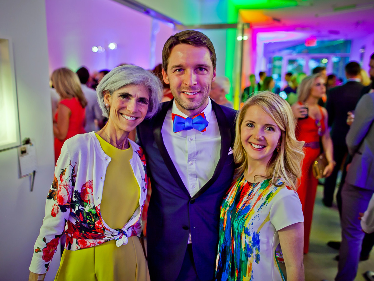 Houston, Blaffer Art Museum Color Splash Gala, April 2017, Judy Nyquist, Nic Phillips, Winnie Phillips