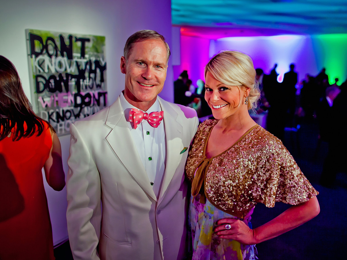 Houston, Blaffer Art Museum Color Splash Gala, April 2017, James Bell, Cortney Cole-Hall
