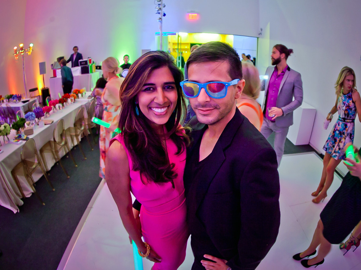 Houston, Blaffer Art Museum Color Splash Gala, April 2017, Divya Brown, Hunter Martin