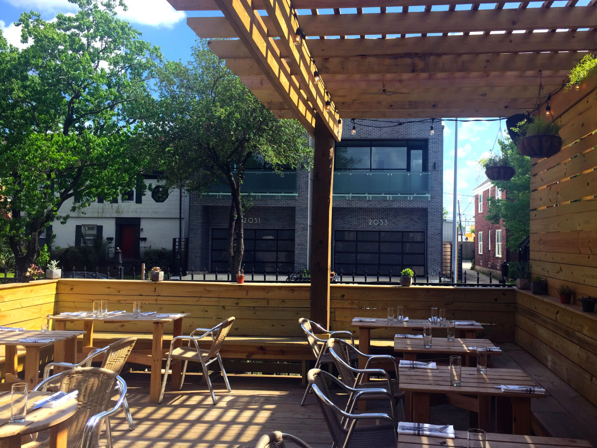 Houston, new patios, April 2017, Nobies