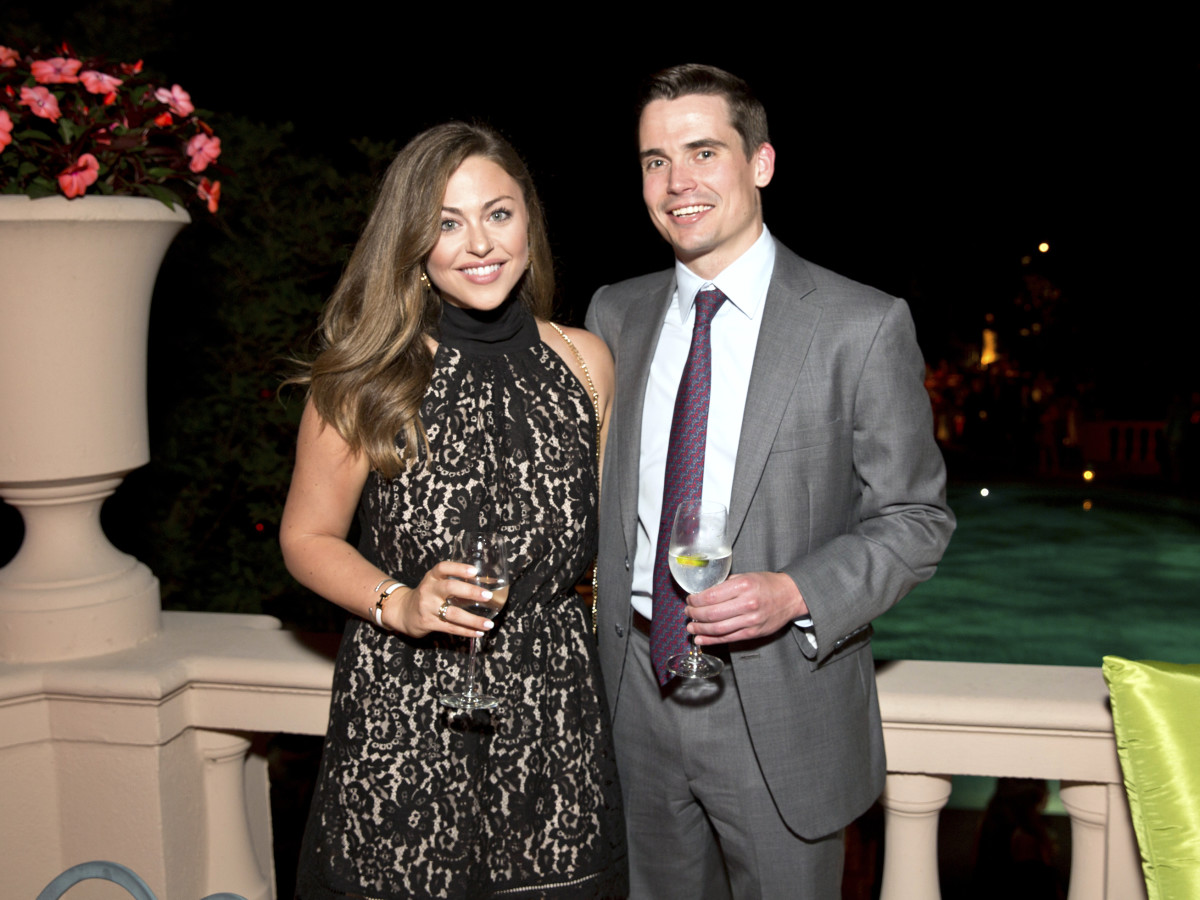 Houston, Rienzi Spring Party, April 2017, Lexi Sakowitz, Michael Marek