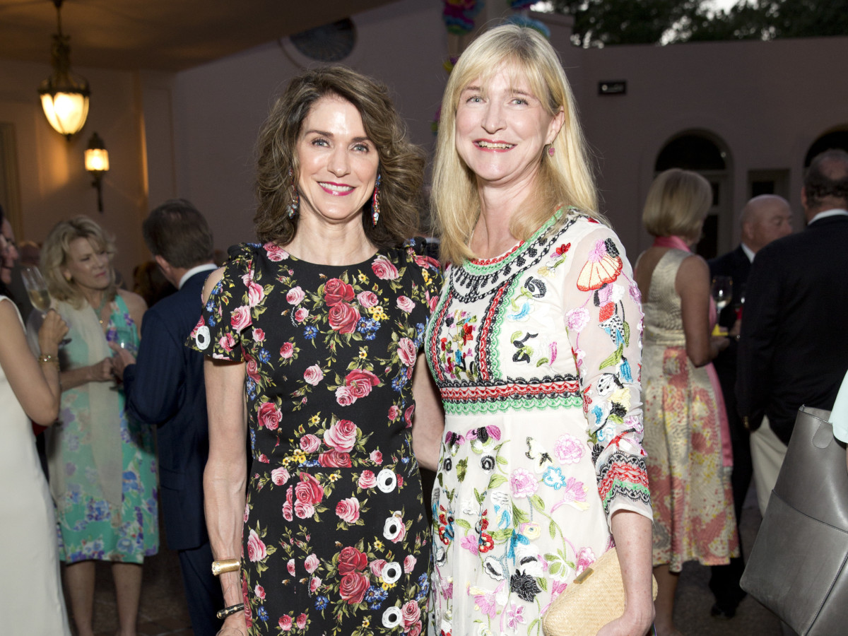 Houston, Rienzi Spring Party, April 2017, Christiana McConn, Carroll Goodman