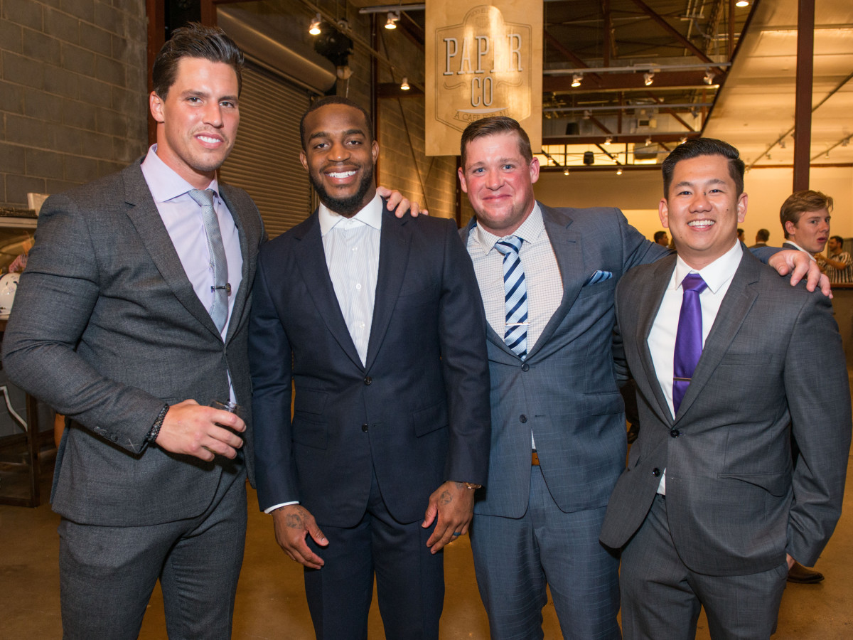 Houston, Game Day Gala, April 2017, Brian Cushing, Kareem Jackson, Jon Weeks, Dr. Casey Ho