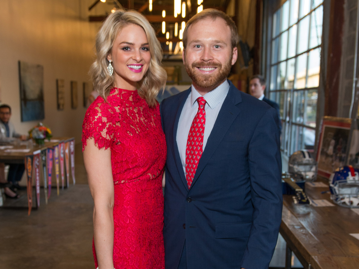Houston, Game Day Gala, April 2017, Sarabeth Melton, Pierce Bush