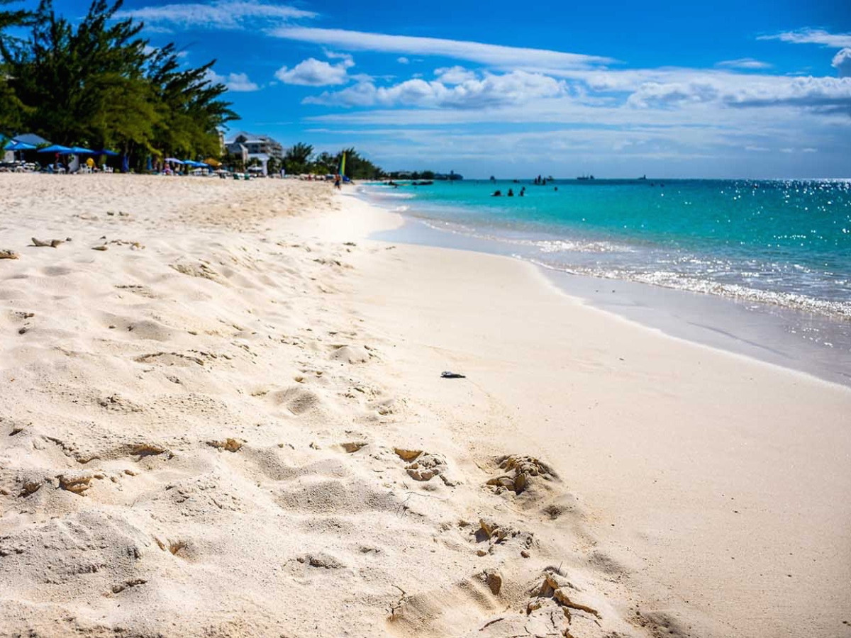 Grand Cayman Island beach