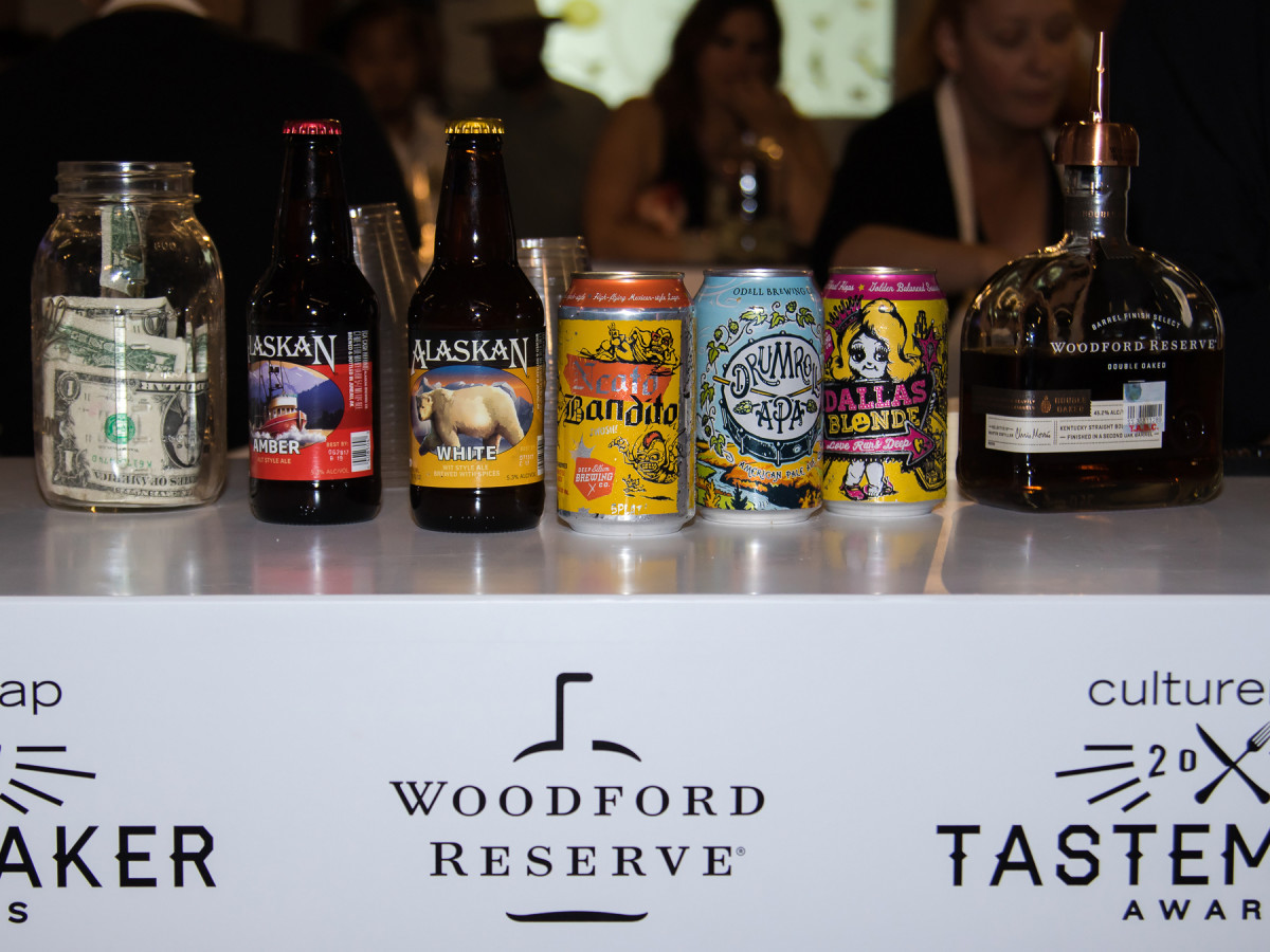 Drink selections at Tastemakers 2017
