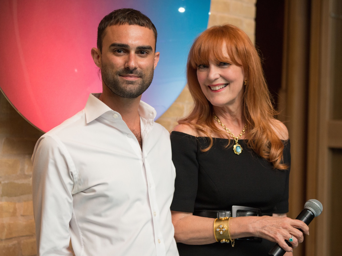 Justin Kouri, Gracie Cavnar at Recipe for Success dinner