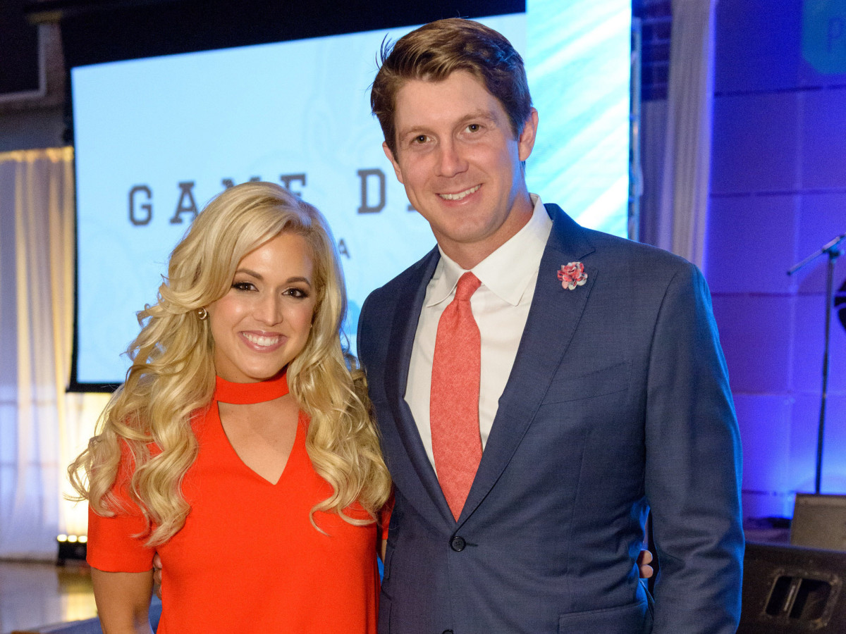 Houston, Game Day Gala, April 2017, Ericka Graham, Garrett Graham