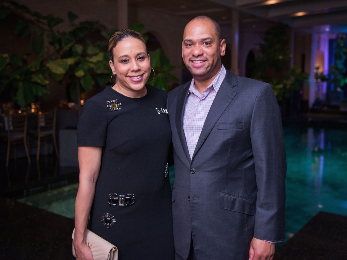 Heidi Smith, Marcus Smith at Recipe for Success dinner